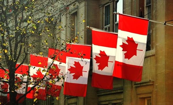 Kanadské vlajky