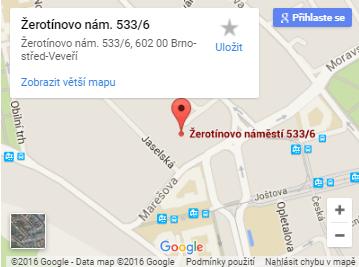 Brno Víme - Adresa