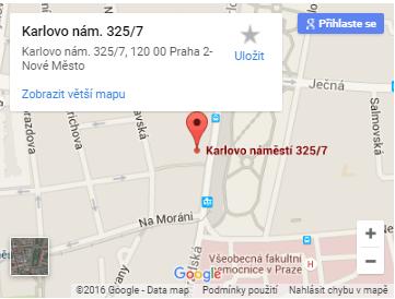 Praha Víme - Adresa