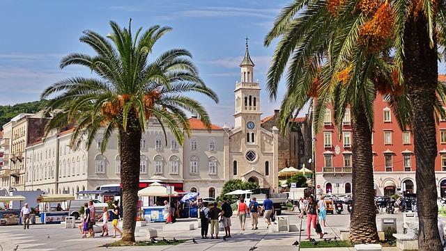 Split - Chorvatsko