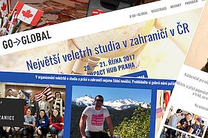 Go->Global — Největší veletrh studia v zahraničí v ČR