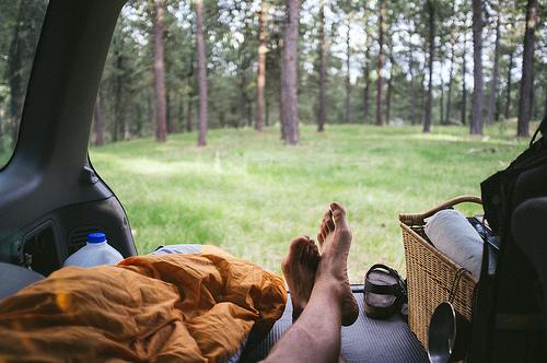 Ubytování v kempu při jazykovém kurzu v zahraničí