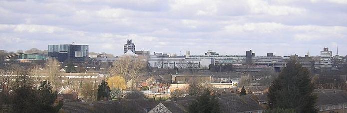Skyline Corby from Wikimedia