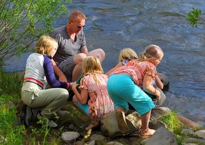Letní program pro rodiče s dětmi