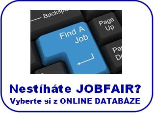 Nestíháte jobfair? Online databáze