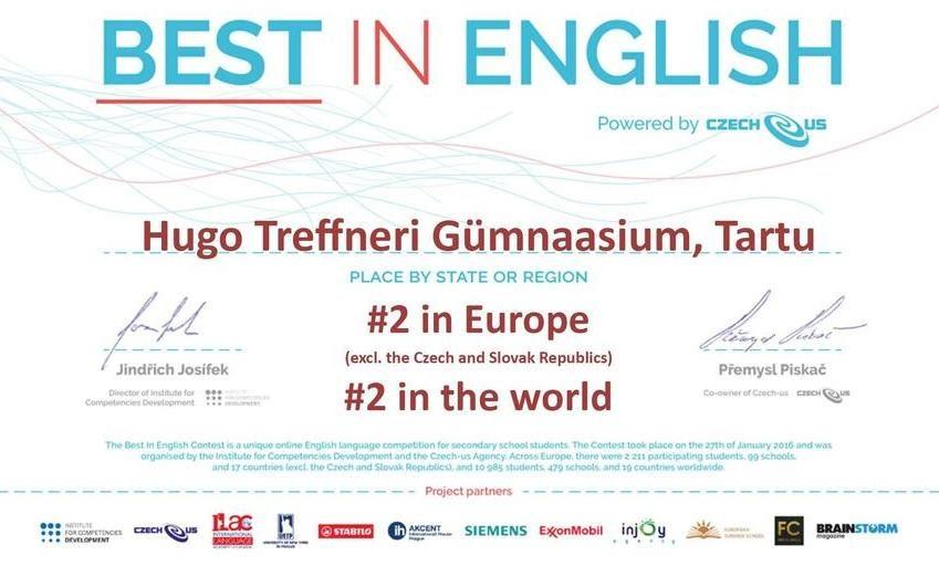 Estonsko - Best in English
