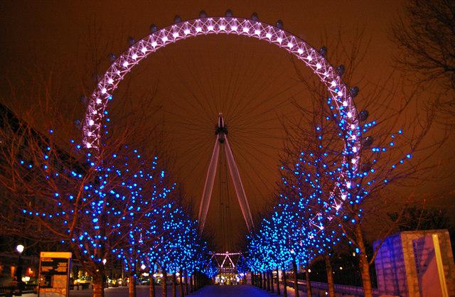 Vánoce v Londýně