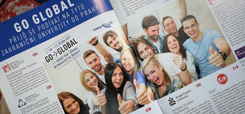 Go Global proběhne 20.-21. října 2017 v prostorách IMPACT HUB Praha, Drtinova 557/10, Praha 5