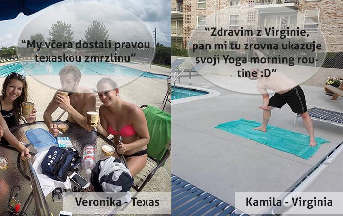 Plavčíci v USA