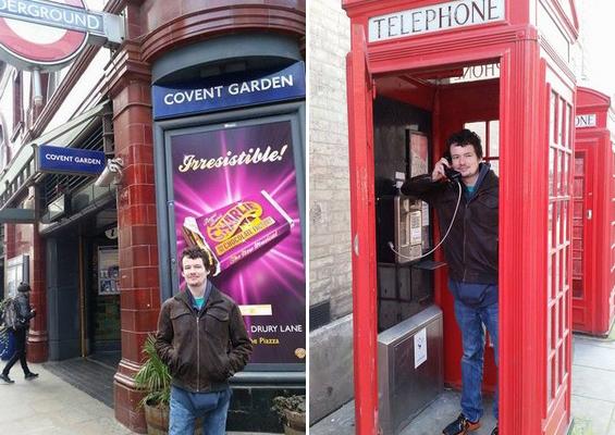 Tomáš v Londýně