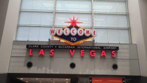Vítejte v Las Vegas cedule.