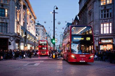 Doubledecker v Londýně
