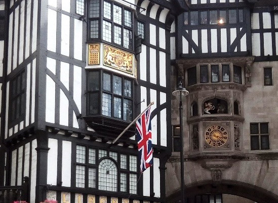 Historický dům v Londýně