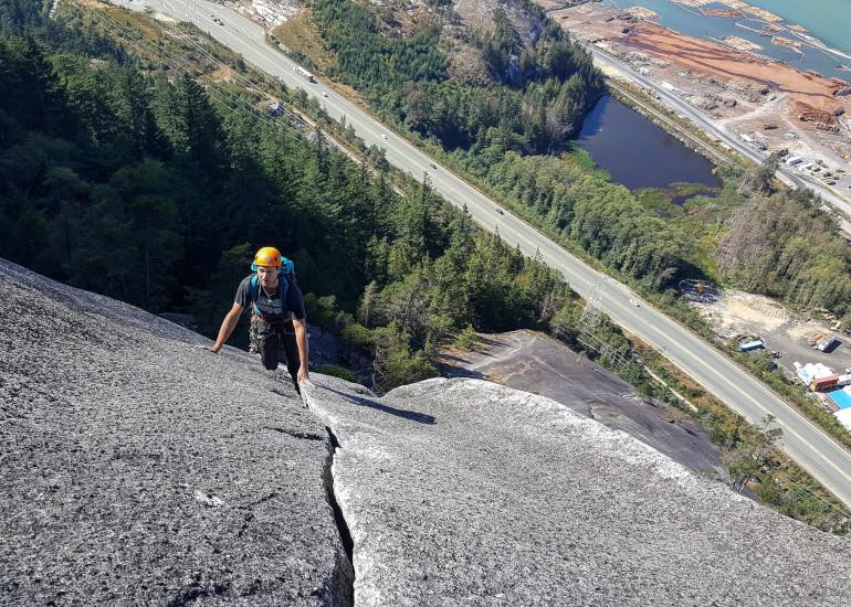 Whistler Adventure School a zdolávání kanadských hor