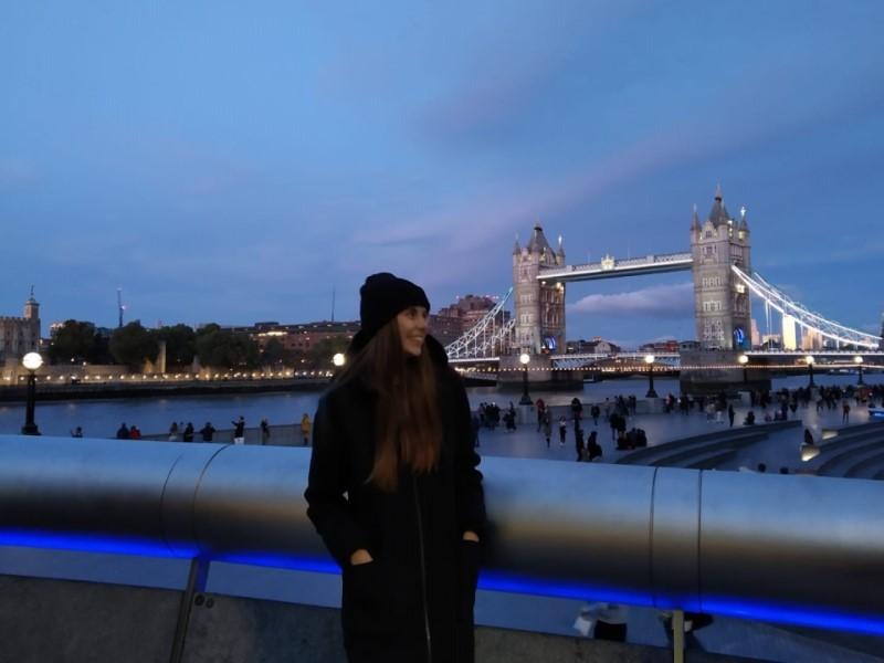 Jana v Londýně