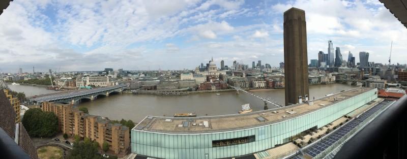 Panorama Londýnu