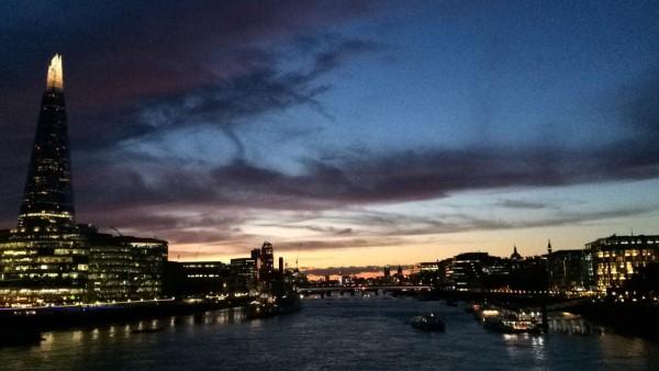Večerní kouzlo Londýna