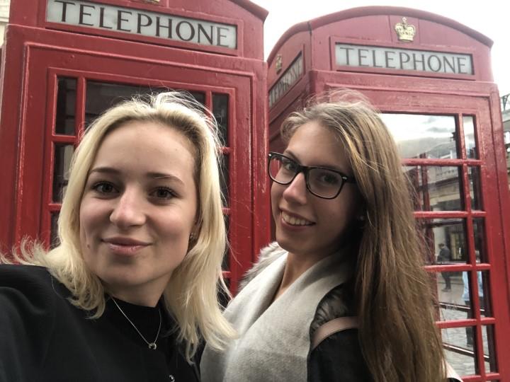 Tereza a její kamarádka