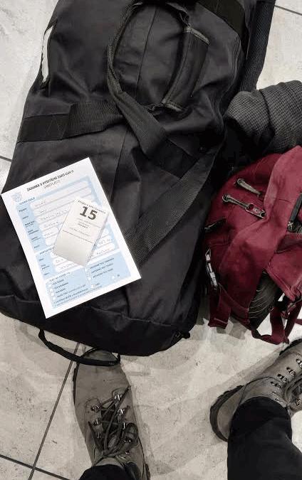 zavazadla na letisti
