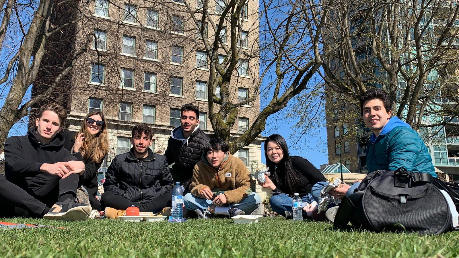 studenti v Kanadě