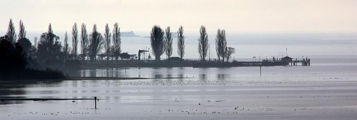 Lake Constance, kde také můžete pracovat